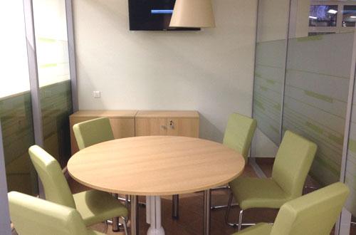 переговорная комната в ЦРБ Сбербака г Ижевск