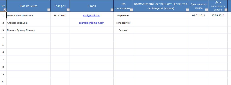Программу для создания эксель таблица